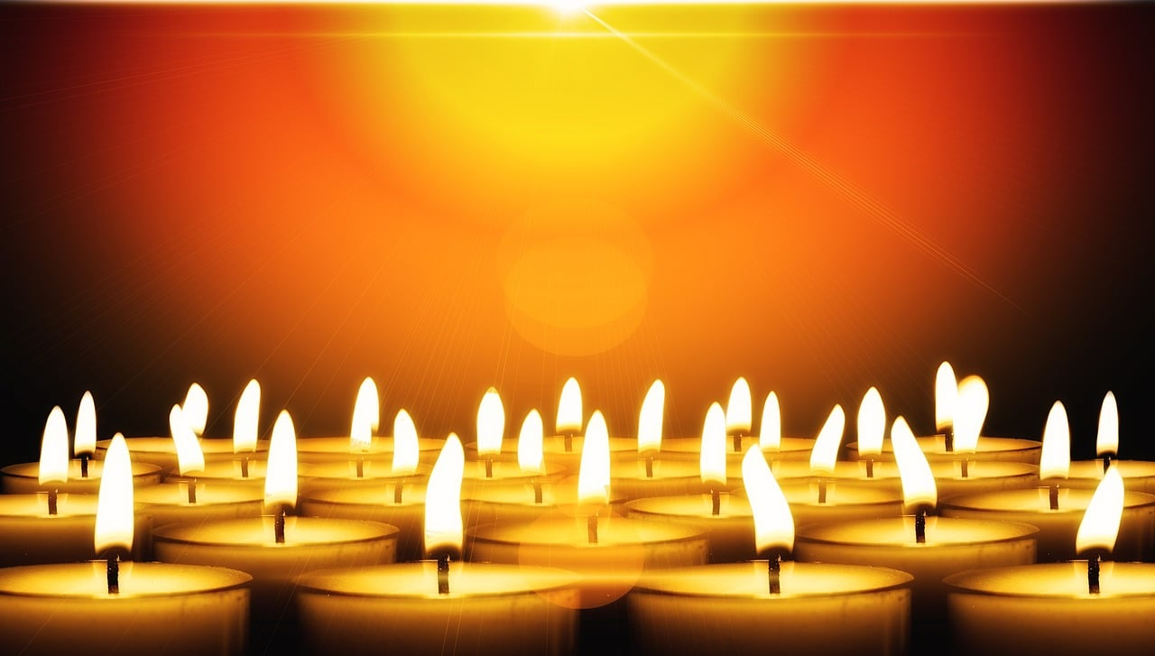 candles, christmas, festival